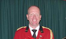 Mario Staring, nieuwe hoofdcommandant bij schutterij St. Andreas